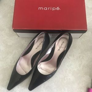 Maripe pointed toe heels